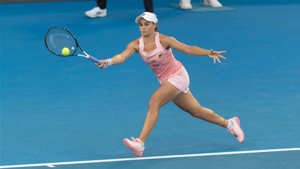 Barty makes Fed Cup history