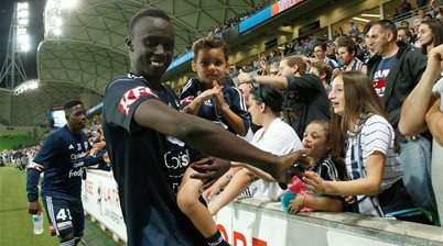 'Violence isn't the answer' - the campaign that touched Deng's heart