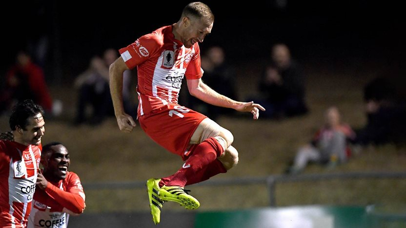 FFA Cup hero: 'I ruptured my ACL but kept scoring!'