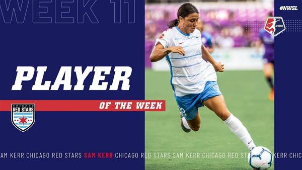 Kerr clean-sweeps NWSL weekly awards