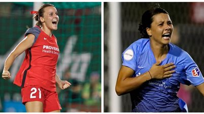 Raso v Kerr in titanic NWSL title decider