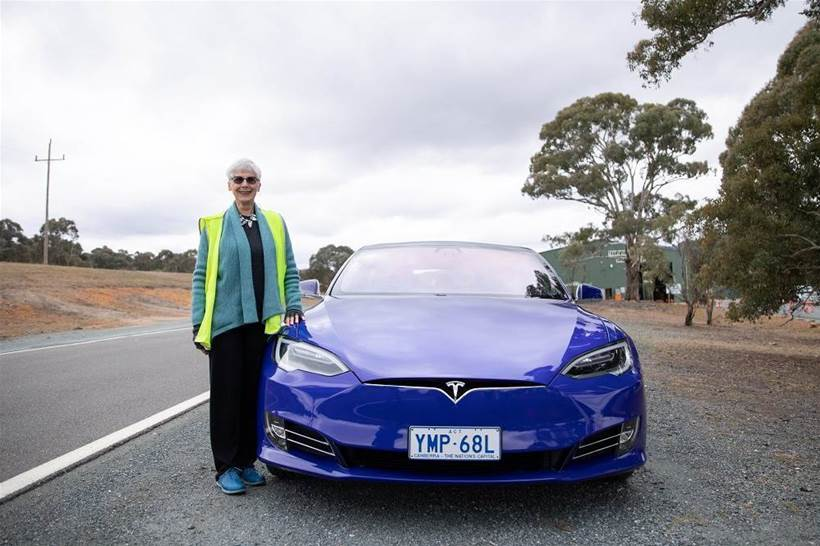 Canberra's older drivers take wheel in semi-autonomous car trial