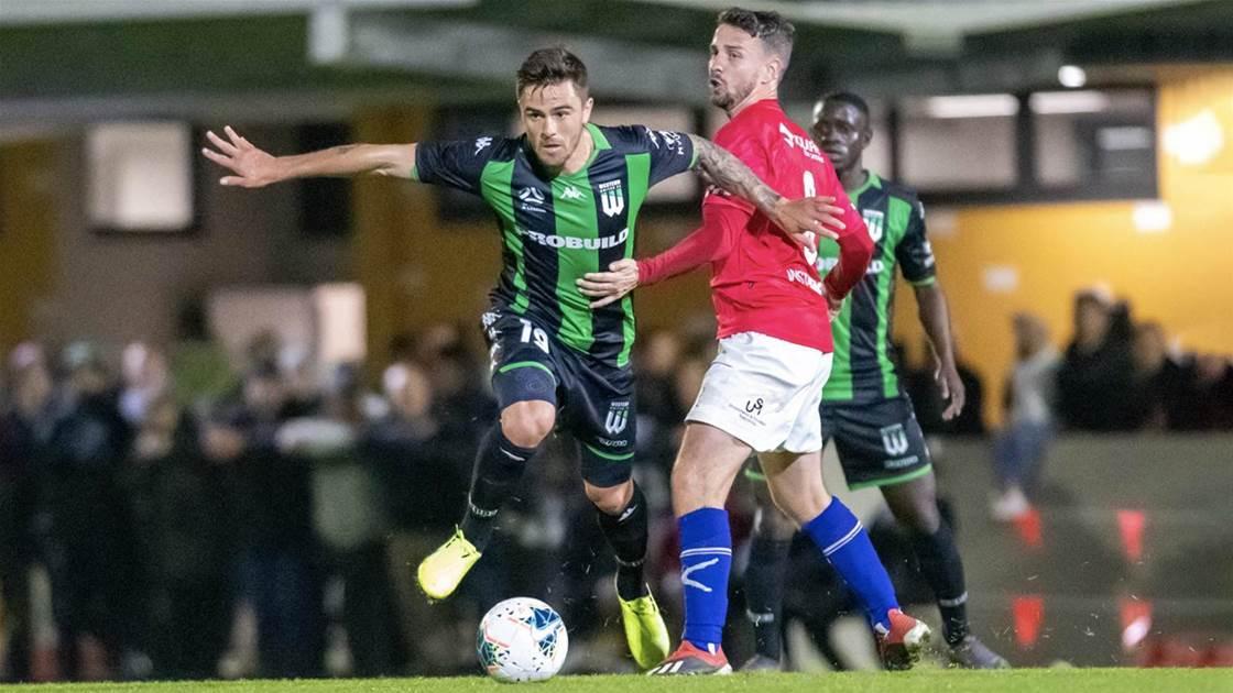 Injury-free Risdon eyes Socceroos return
