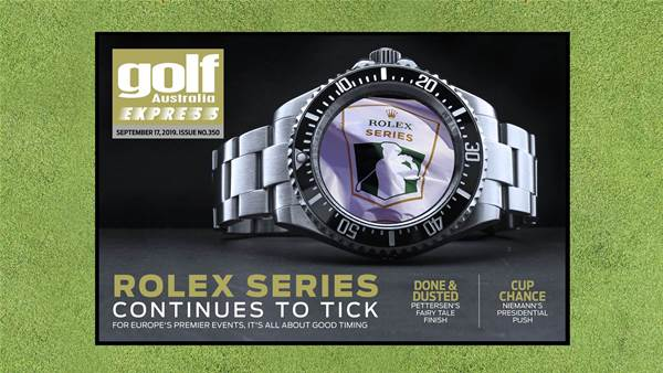GA Express 350: Rolex Series continues to tick