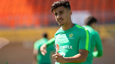 Arzani's back in action