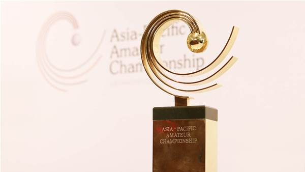 Royal encore for Asia-Pacific Amateur