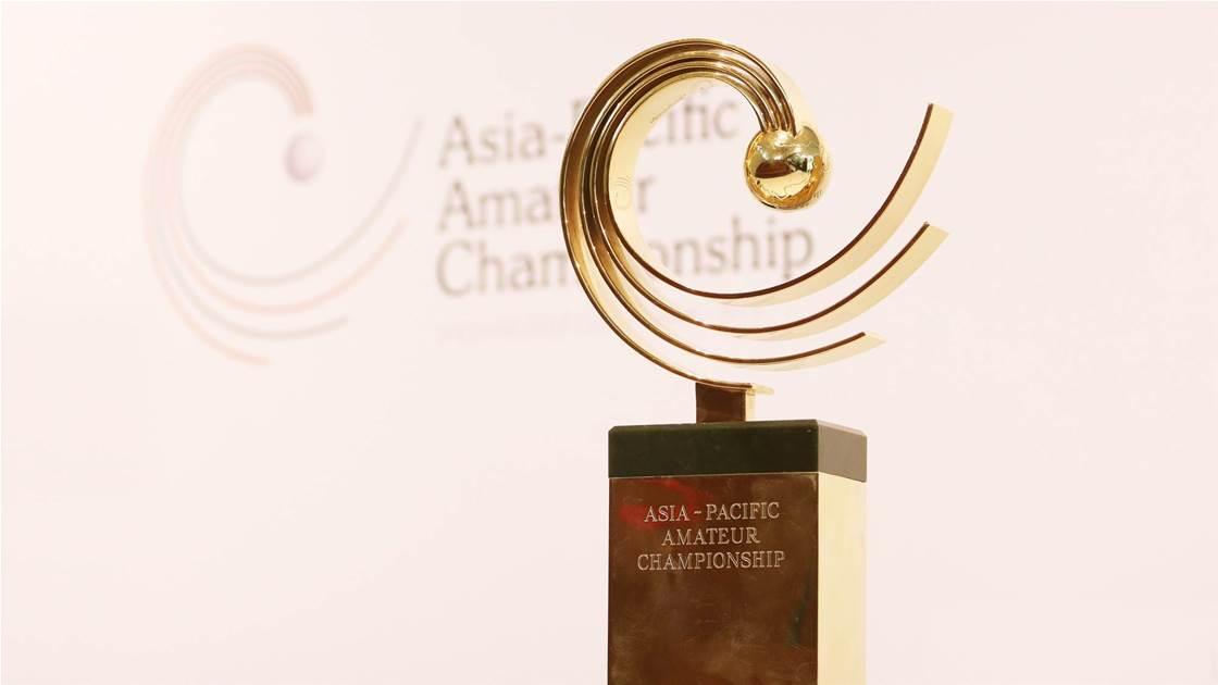 Royal encore for Asia-Pacific Amateur