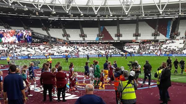 Matildas Abroad: Jacynta's London derby dream