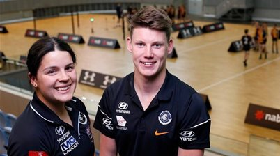 Maddy Prespakis leads AFLW Draft Combine Experience