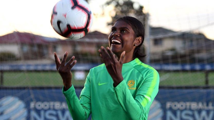 Indigenous youngster named Young Matildas vice-captain