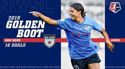 18 goals 'and not one header': Kerr crowned NWSL Player of the Year, Golden Boot