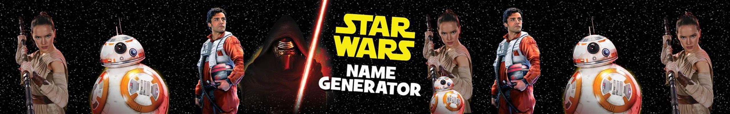 Star Wars Name Generator