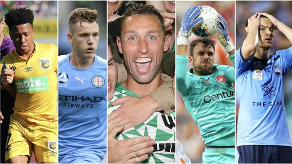 Best players of A-League round four