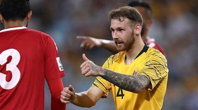 Injured Boyle quietly studied Socceroos