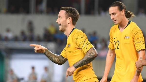 Socceroos to bang in more goals: Taggart