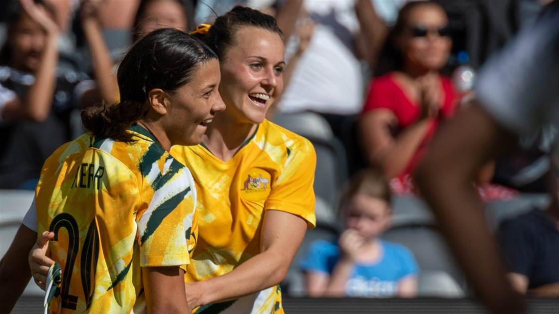 Matildas teammates excited by Kerr move