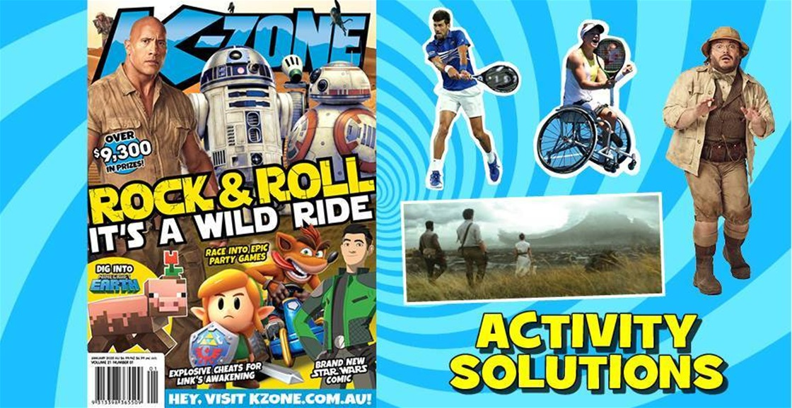 JANUARY 2020 ISSUE ACTIVITY SOLUTIONS