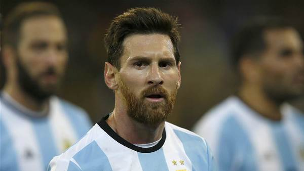 Arnie: We've got Messi and Argentina in our sights