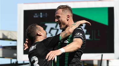 'I needed to show a bit of love today' - Good vibes only for Besart Berisha after troublesome stretch