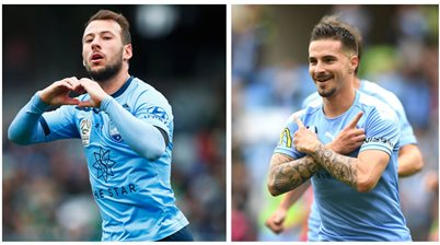 'The two best strikers' shoot for top spot in A-League