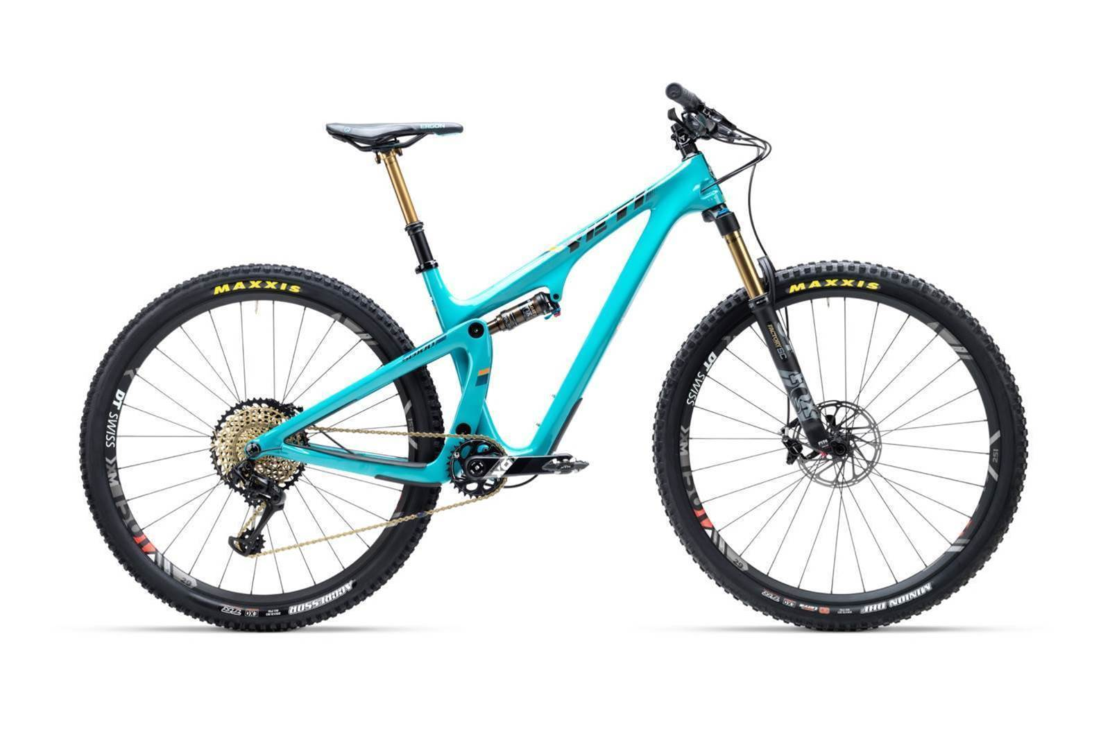 Yeti go new school XC with the SB100