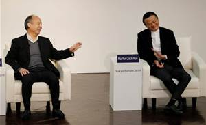 SoftBank's US$150 billion Alibaba warchest in spotlight