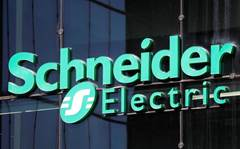 Schneider Electric first quarter sales drop
