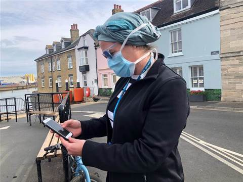 From bunting to the big picture: Isle of Wight becomes UK's virus app test bed