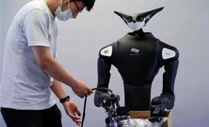 Kangaroo-like robot to clock in at Japanese convenience store