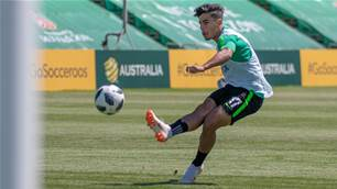 Arzani stays on Olyroos radar for Tokyo