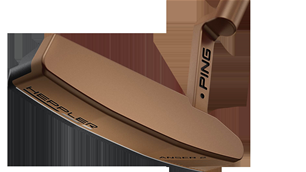 FIRST LOOK: PING'S new firm feel Heppler putters
