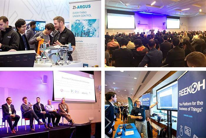 Images from the IoT Festival 2019