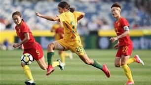 Game-change boost for injured Sam Kerr