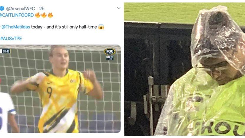 Matildas social wrap: Arsenal's going crazy but security are falling asleep