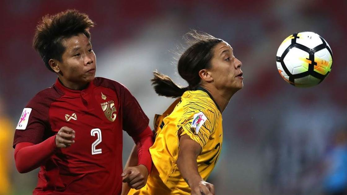 Matildas reminded of Thailand scare of '18
