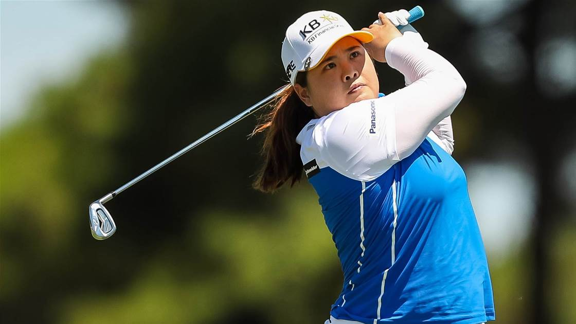 Inbee parked in second at Women's Aus Open
