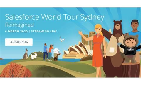 Coronavirus claims Salesforce's Sydney show