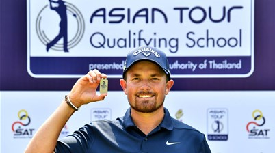 Follett-Smith on top as five Australians claim Asian Tour cards