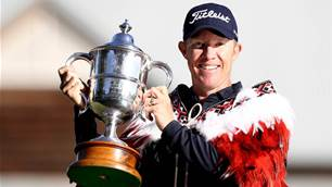 Kennedy storms home to win second New Zealand Open title