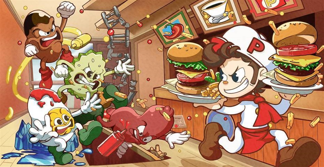 Playing Now: BurgerTime Party!