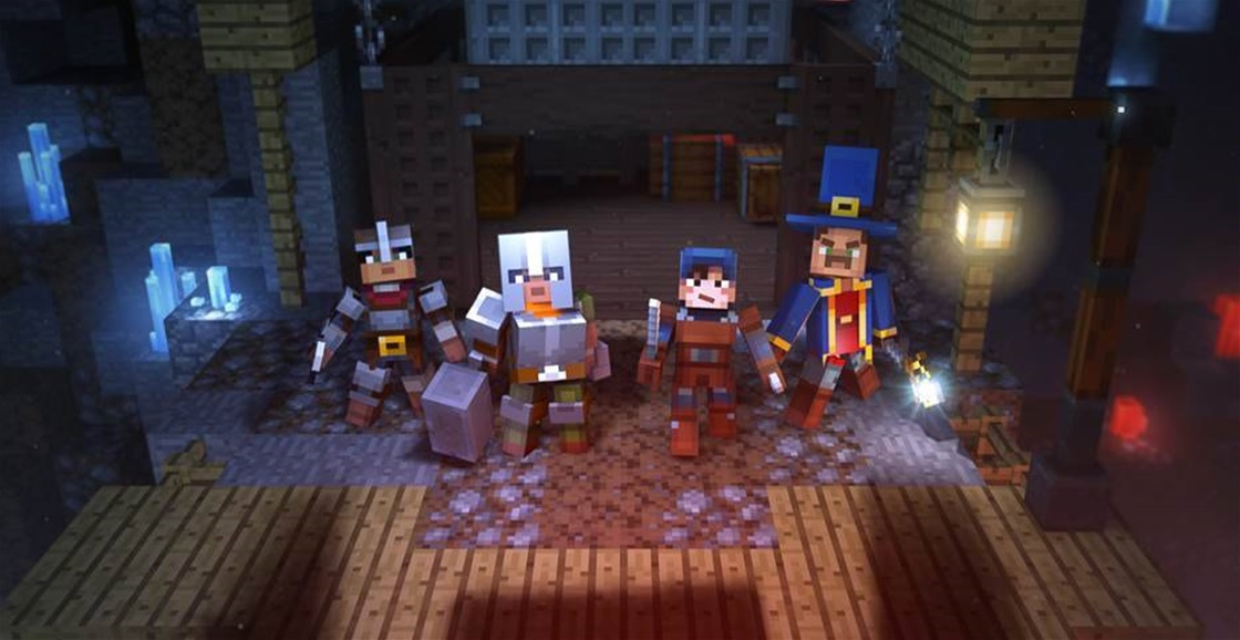 Playing Now: Minecraft Dungeons