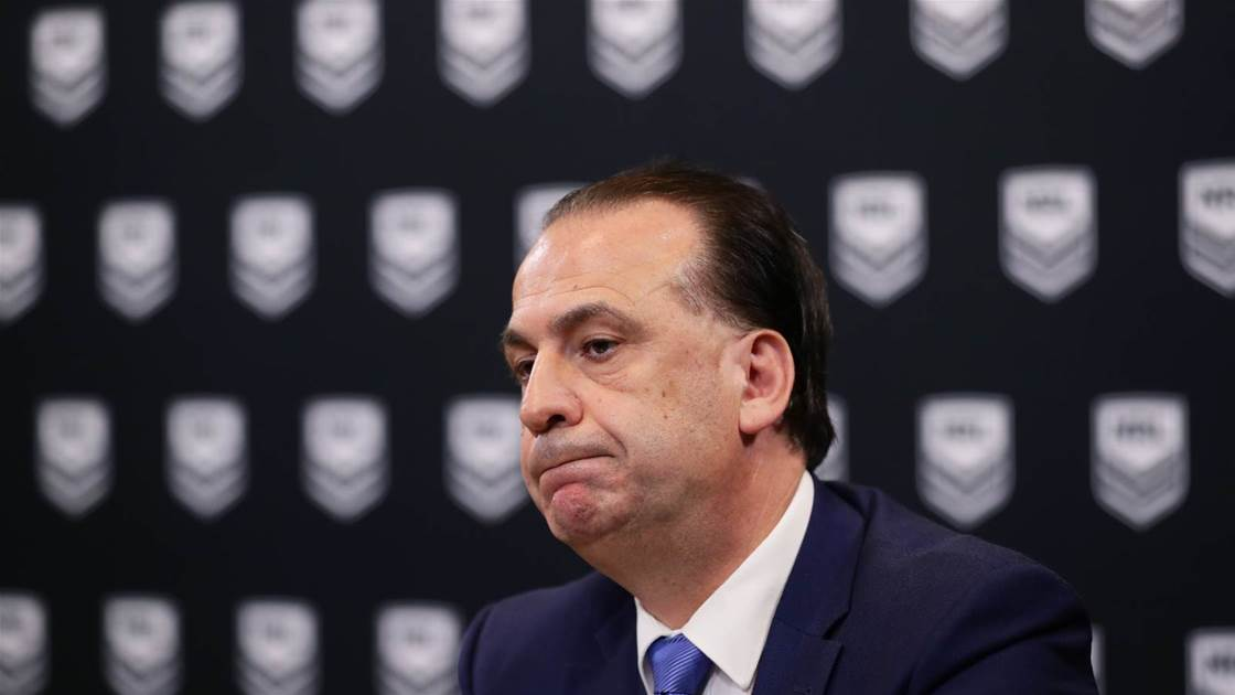 NRL season suspended indefinitely