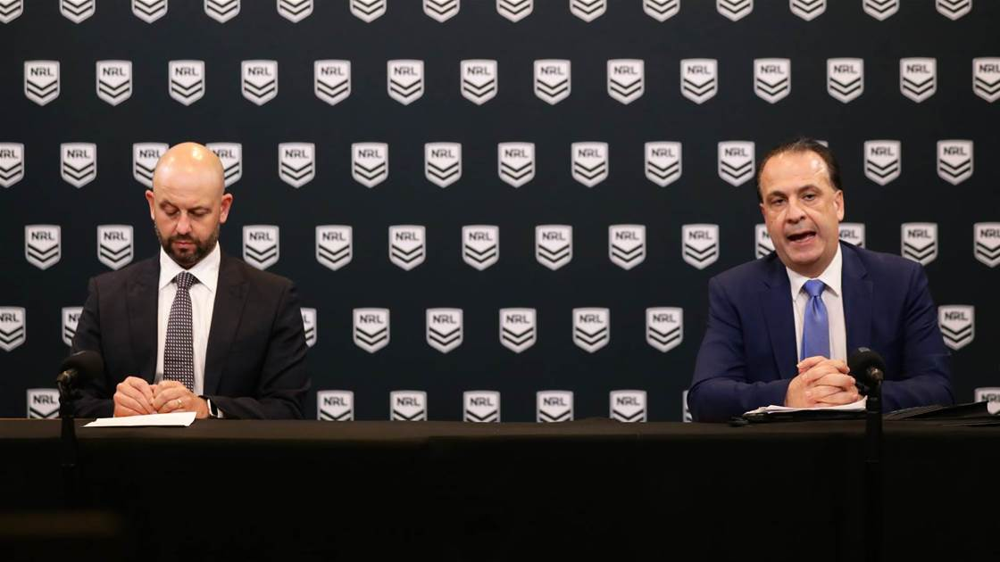 NRL and club CEOs come together to try to save game