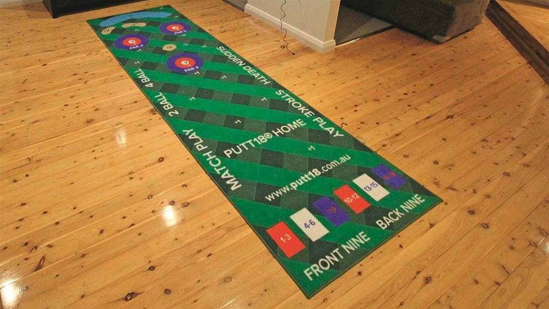 Review: Putt18 putting mat game