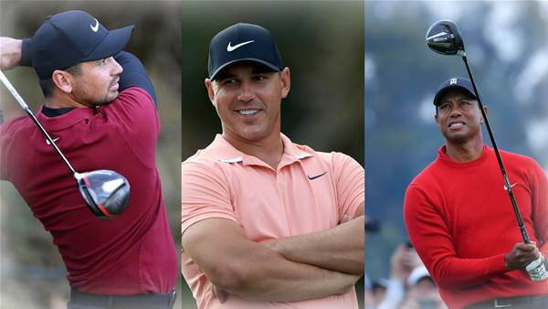 The players who will benefit from golf's blackout