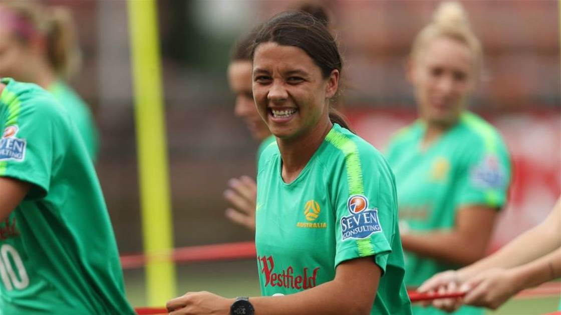 Train at home like Sam Kerr, no equipment needed