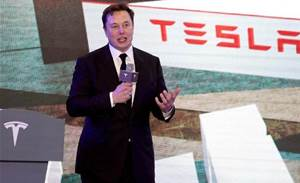 Tesla stock rise appears to qualify CEO Musk for US$700m payday