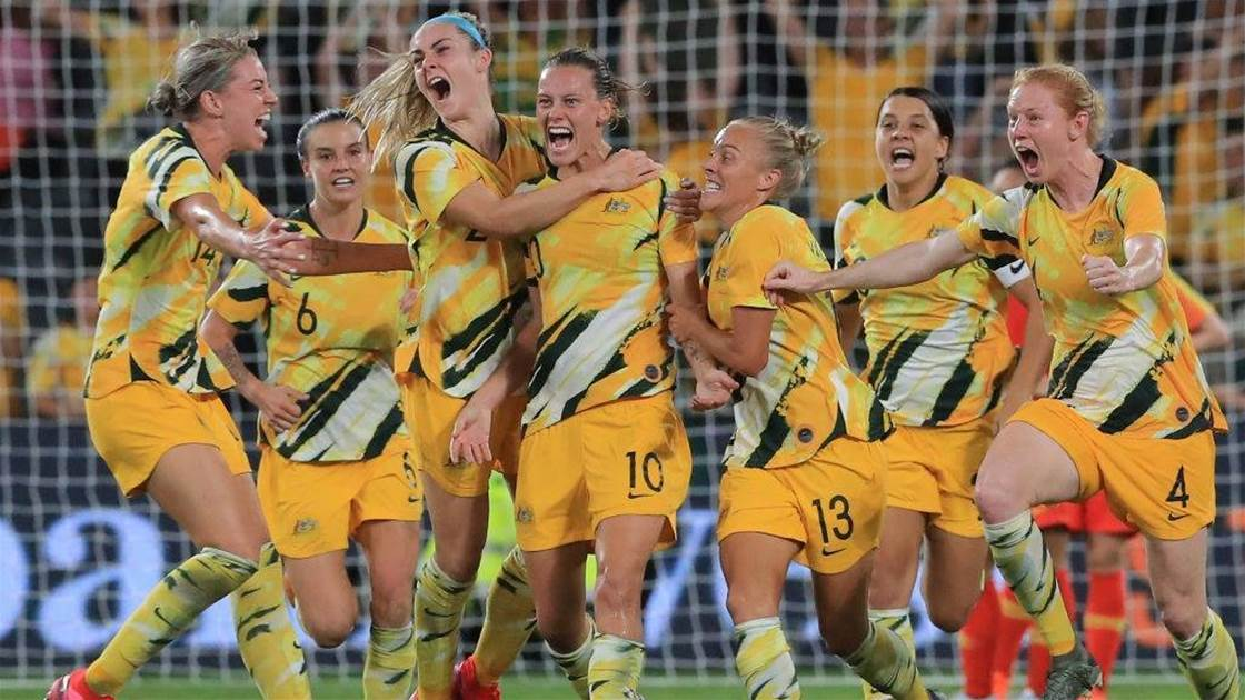 Our top five performing Matildas in the last 12 months