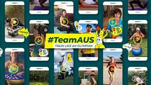Australian Olympic Team gives YOU a challenge