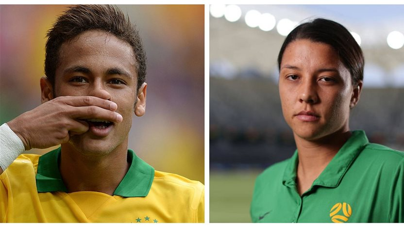 OP: Neymar earned more than every female footballer combined. How do we change this?